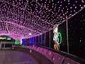 弘明寺商店街さくら橋のクリスマスイルミネーション