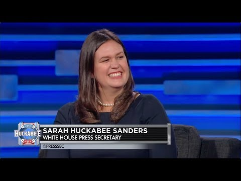 EXCLUSIVE: White House Press Secretary Sarah Huckabee Sanders Talks Trump, Jesus & More! | Huckabee