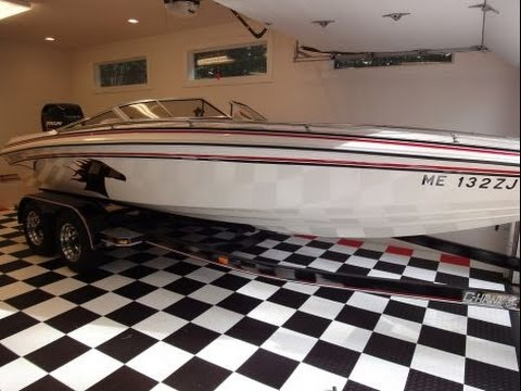 2005 21 foot Checkmate Pulsar Power boat for sale. $34,500. Kennebunkport, ME.