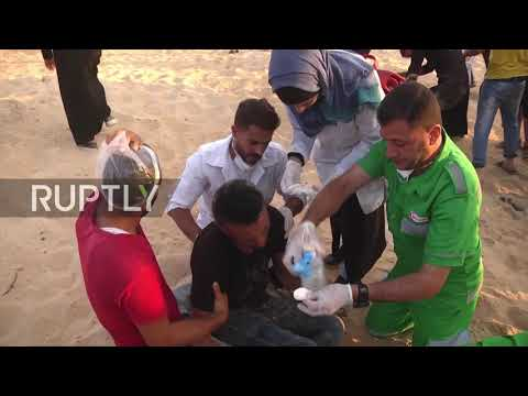 State Of Palestine: 11 Palestinians Wounded During Gaza Fishing Boat Protest