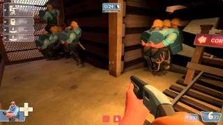 TF2 bot battle 13 : Soldier VS Engineer