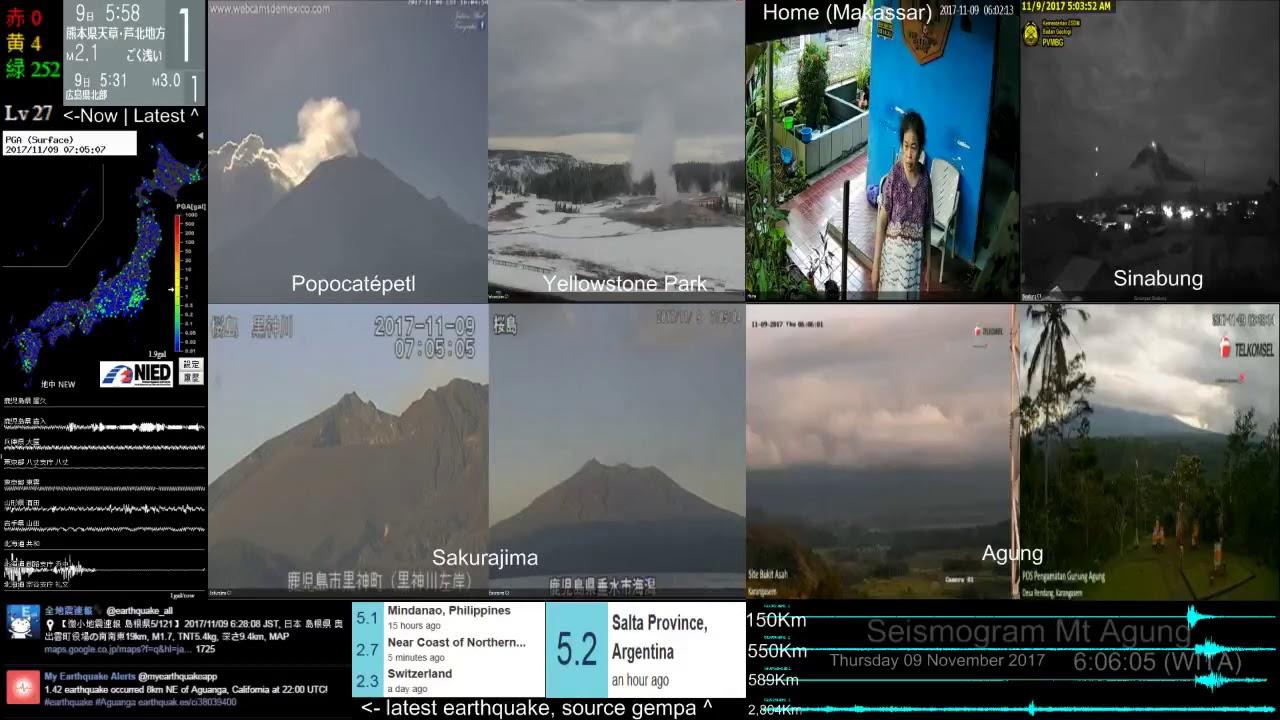 9 11 2017 earthquake m5 1 bali indonesia