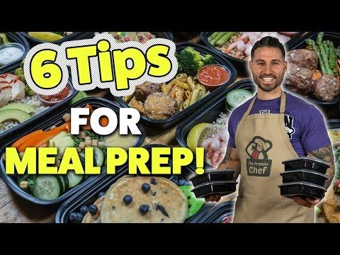 6 Steps to Foolproof Meal Prep