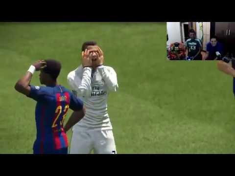 FIFA 17 E PES 2017 - GRAVAÇÃO DA LIVE !