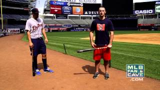 MLB Bat Tricks with Nick Castellanos