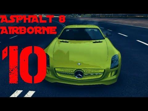 Asphalt 8 Airborne Infected Iceland Season 1 Benz Car Race  Walkthrough  *  HD Game Play - Part 10
