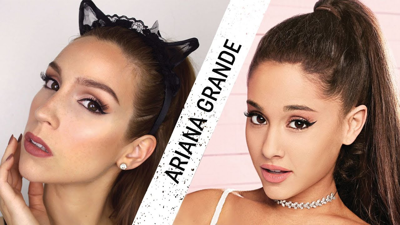 maquillage de star ariana grande youtube. Black Bedroom Furniture Sets. Home Design Ideas