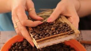 Кофейный декор блокнота. Мастер-класс(, 2014-02-09T10:50:38.000Z)