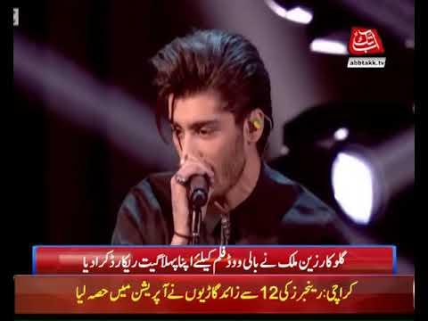 Zayn Malik Records His First Bollywood Song