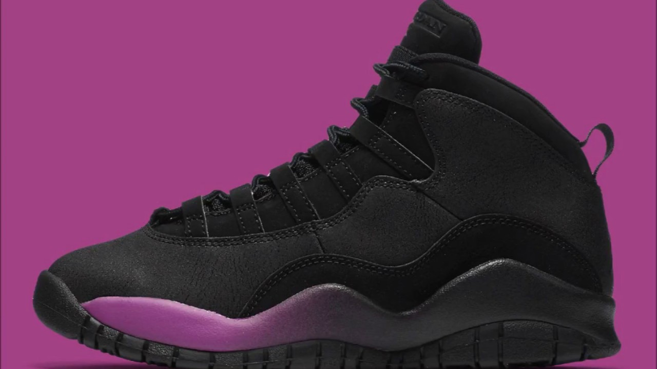 The Air Jordan 10 Gets Hit with a Blast of Fuchsia New colorway is  exclusive to girls. dafreshestniggainlakecounty. dafreshestniggainlakecounty 73816c2e1