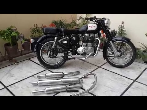 #7 Bullet Sound / Big punjabi Silencer / RE / Royal enfield with big punjabi Sound