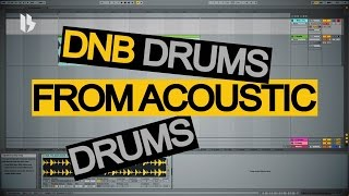 Synthesize Sunday 011 - Making DNB Drums from Acoustic Drums
