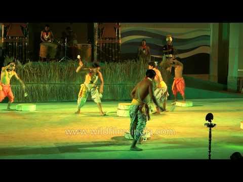 Dhol Cholom : Dynamic drum dance of Manipur