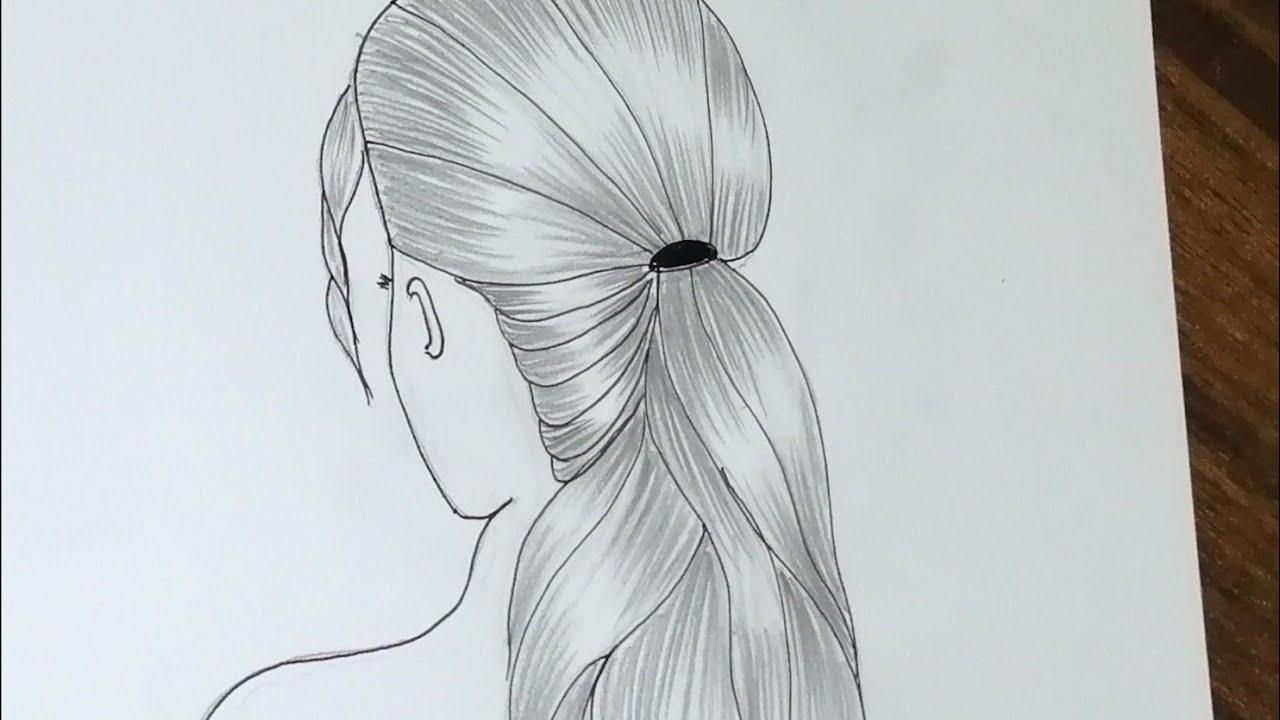 رسم بنات رسومات سهلة رسم سهل رسم بنات جيرلى كيوت تعليم الرسم