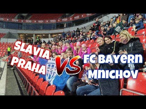 Slavia Praha X FC Bayern Mnichov - VLOG