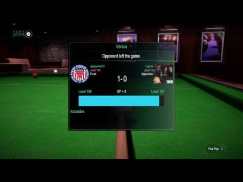Pure Pool™,Snooker Master good try Carj19,thanks for the game.  