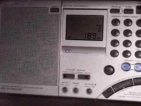 LW DX: Rikisutvarpid Iceland 189 kHz received in Germany on Sony ICF-SW7600GR
