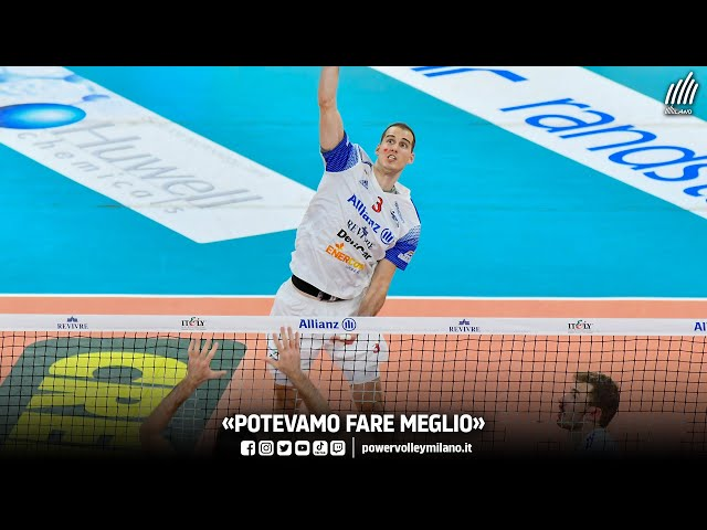 Superlega, intervista post Milano - Perugia di Luka Basic