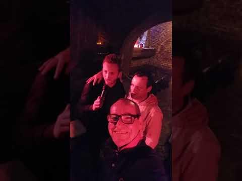 """Panowie z Francji na Karaoke  """" WarSaw Caffe & Club """""""