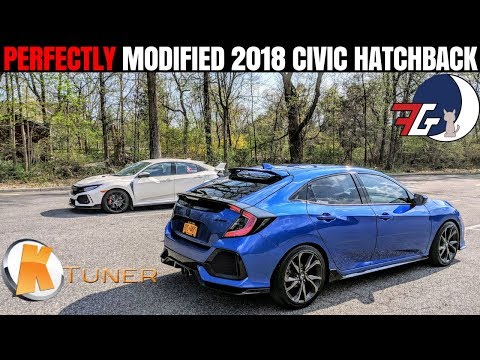 Is the Type R Worth the Extra $15K? | Modified & Tuned Honda Civic Hatchback Review