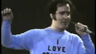 ANDY's  FRIENDLY WORLD - Andy Kaufman in the Carnegie Hall