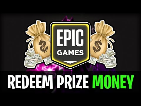 How To Get Paid By Epic Games (Prize Money)