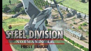 1st NAT Round 2 Steel Division Normandy 44 - Bumblebeepotato vs AmberT Cheux, 1v1