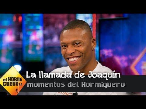 Llamada entre 'Hulio' Baptista y Joaquín:'Lo del tenis habría pasado por mentira'- El Hormiguero 3.0