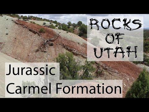 Jurassic Carmel Formation - The Rocks of Utah