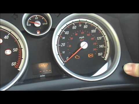 Vauhall Service Light Reset Astra Corsa Combo Vectra