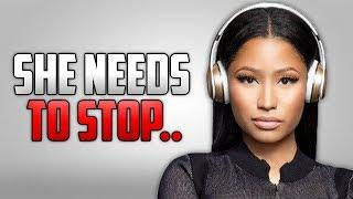 Nicki Minaj Is Breaking Down
