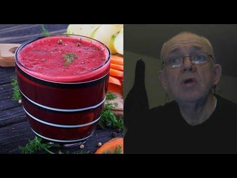 Рецепт овощного сока для излечения рака