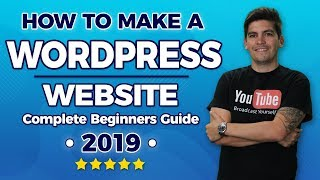 [85.41 MB] How To Make A Wordpress Website 2019 - Easy For Beginners