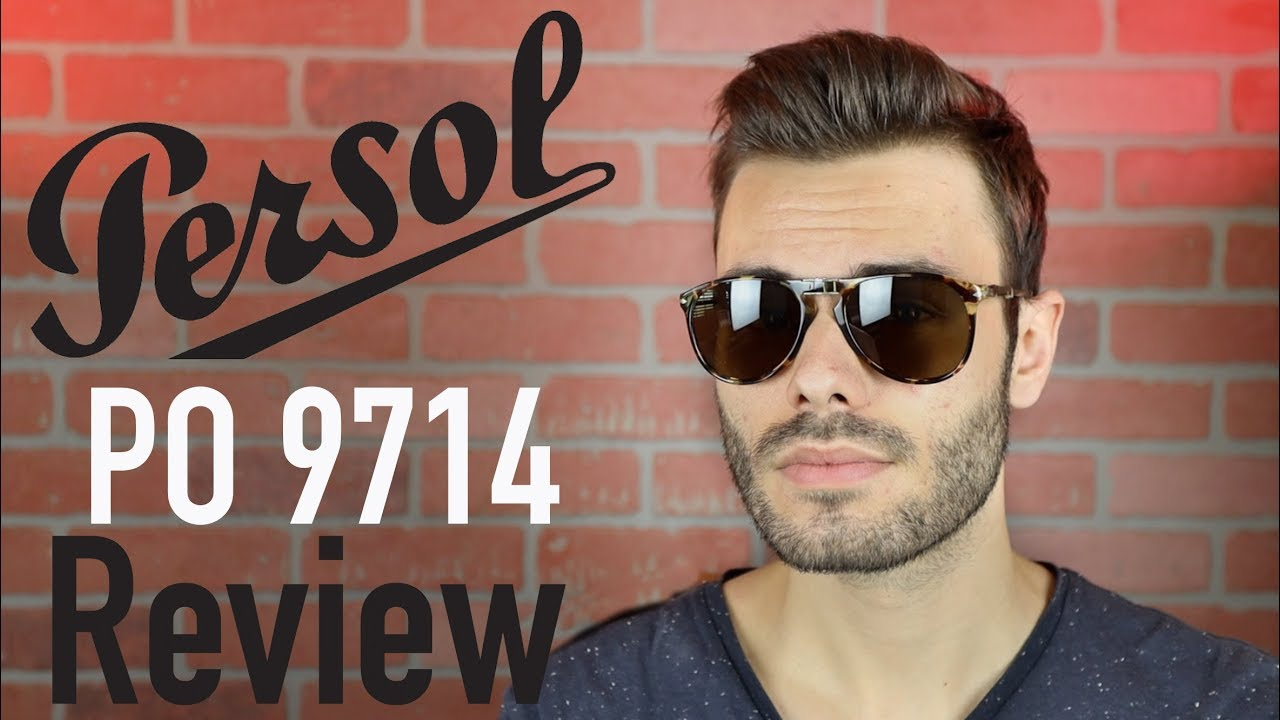 06b758a1dc Persol PO 9714 New Steve McQueen Review - YouTube