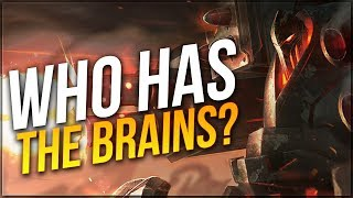 Who has the BIGGER BRAIN?!! - Urgot MADNESS | Dyrus