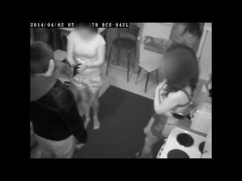 Видео нападения на массажный салон