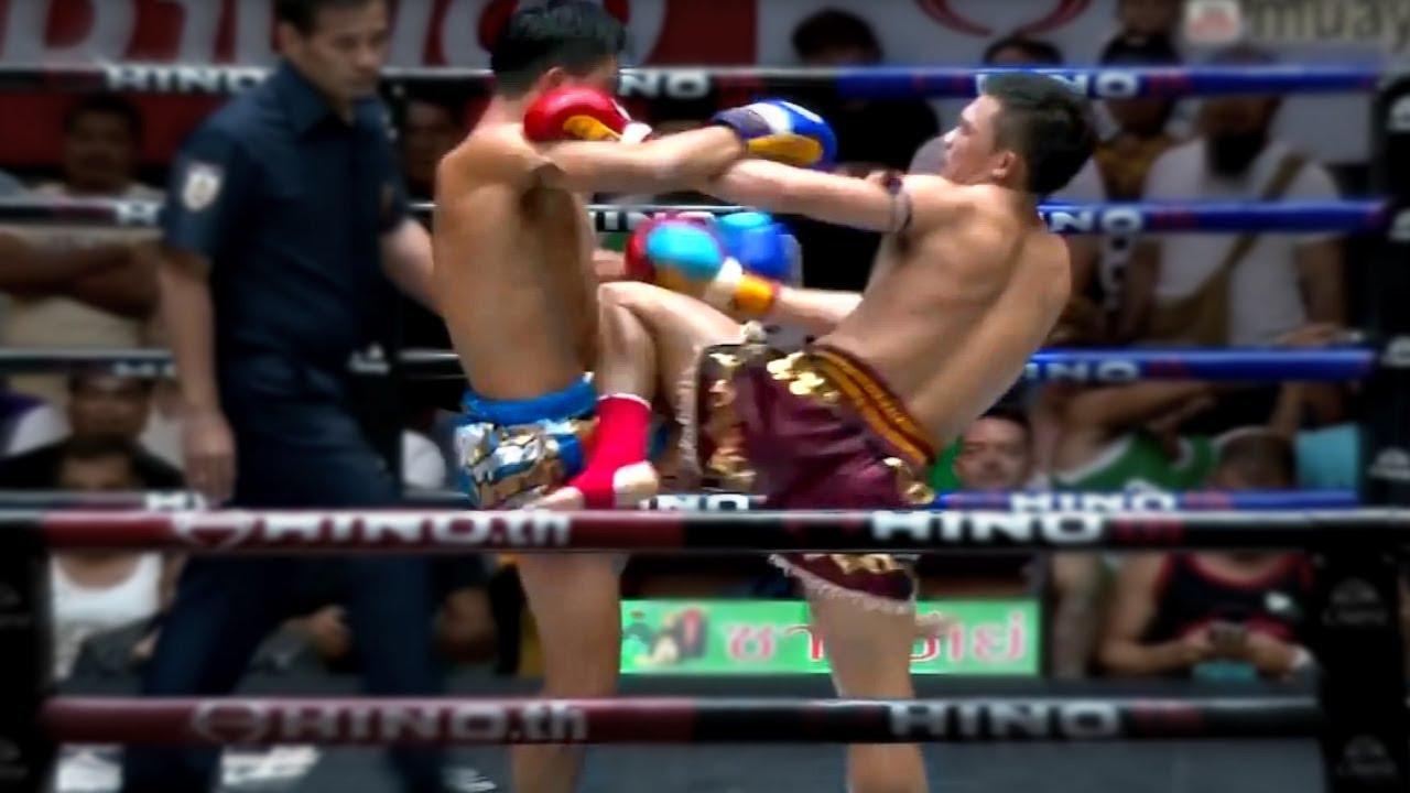 Prajanchai's Knee Guard (Highlights) พระจันทร์ฉาย พี.เค.แสนชัยมวยไทยยิม