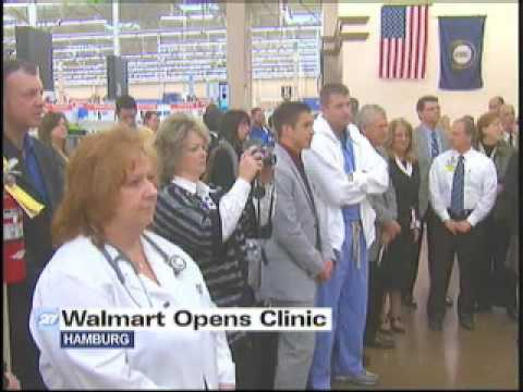 New clinic opens at Hamburg Walmart
