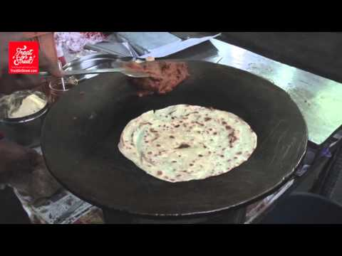 Mumbai Street Food - Vegetable Chapati Frenkie -Area Ghatkopar West