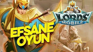 LORDS MOBILE TÜRKÇE - EFSANE MOBİL OYUN (BLUESTACKS)