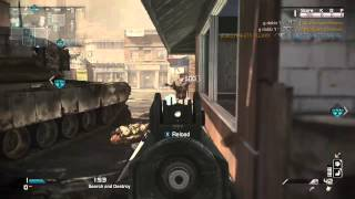 Playing search and destroy when I had already killed the bomb carrier and continued to wreak havoc.