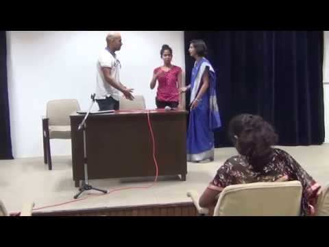 Funny Hindi comedy skit One act play: M or W