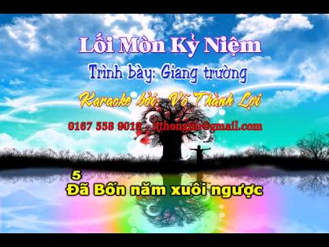 karaoke loi mon ky niem (karaoke by itthongtin)
