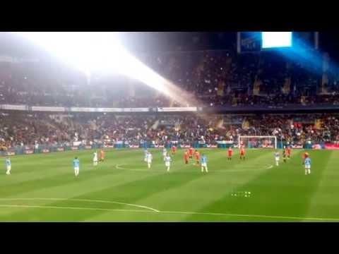 Málaga 3 Sevilla 2 penalty de duda