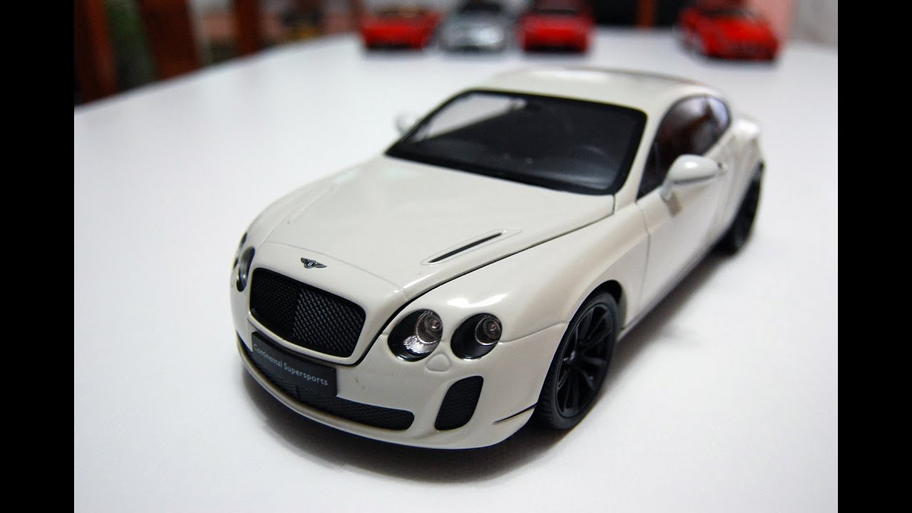 bentley continental welly 1:18