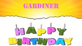 Gardiner   Wishes & Mensajes - Happy Birthday