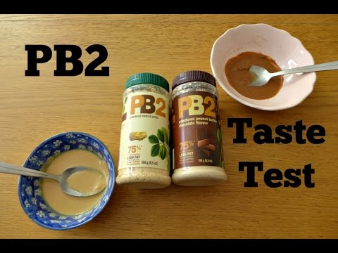 PB2 Powdered Peanut Butter Taste Test & Review