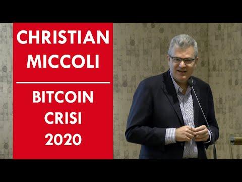 Salvarsi La PELLE Con BITCOIN (CRISI 2020) Ft Christian Miccoli Ex CEO Chebanca, ING Direct