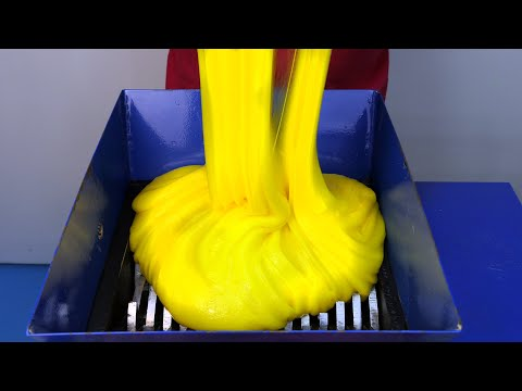 Shredding Mega Slime! Satisfying ASMR Video!