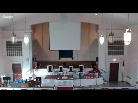 Worship Service, East Baptist Church, Lynn, MA  November 13, 2016